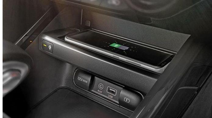 Kia careto wireless charging