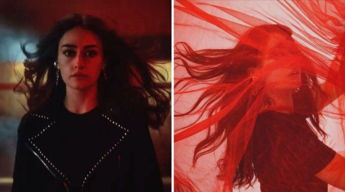 Turkish actress Esra Bilgic (Halima Sultan) in the latest Jazz 4G Ad