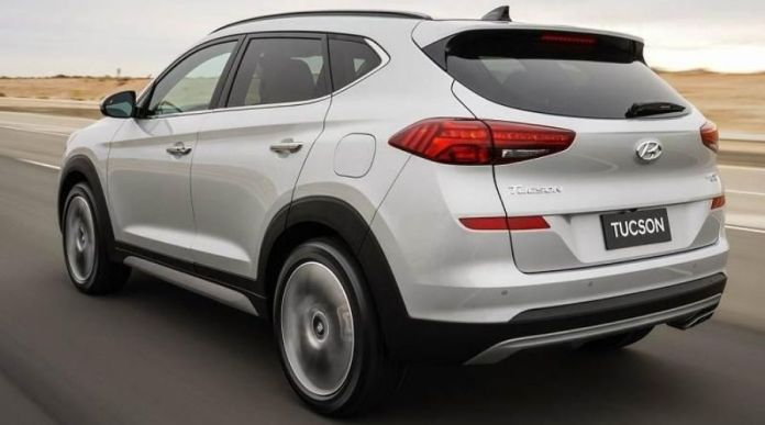 Hyundai Tucson 2020 Rear Look