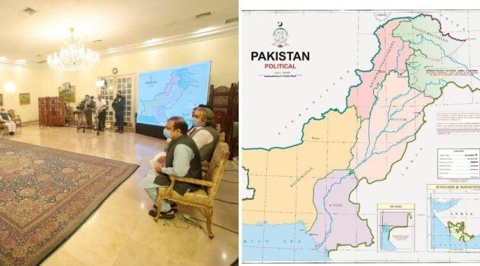 PM Imran Khan unveils 'First Political Map' of Pakistan including IIOJK