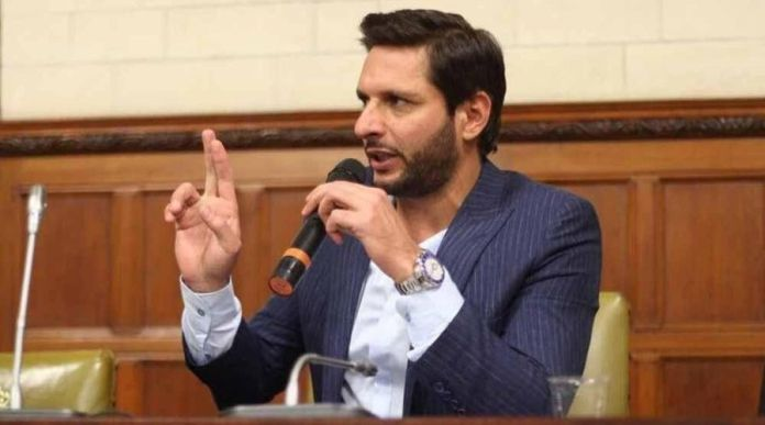 Shahid Afridi criticizes the government for the condition Karachi is in today