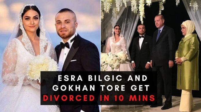 Ertugrul star EsraBilgic and Gokhan Tore get divorced in 10 mins