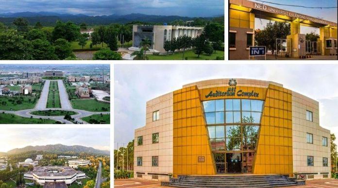 List of Top 5 Engineering Universities in Pakistan 2020