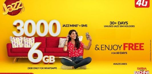 Jazz Sim Lagao Offer: How to subscribe and Check Status?