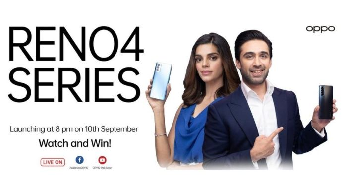Sanam Saeed, Ali Rehman becomes New Faces of OPPO Reno4 series