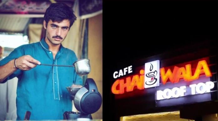 Chai Wala Arshad Khan opens his own Cafe Chai Shop
