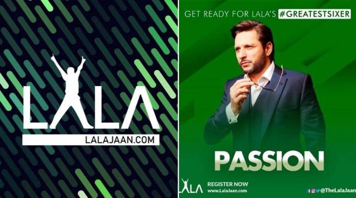 Shahid Afridi announces LalaJaan