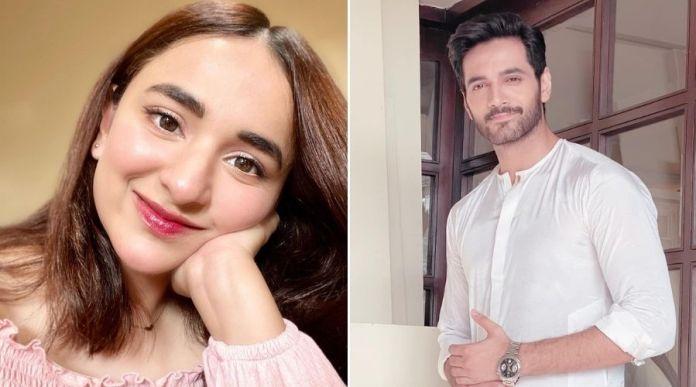 Yumna Zaidi, Wahaj Ali paired up for Kashf Foundation's upcoming Drama