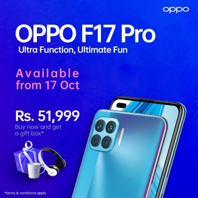 OPPO F17 PRO now available