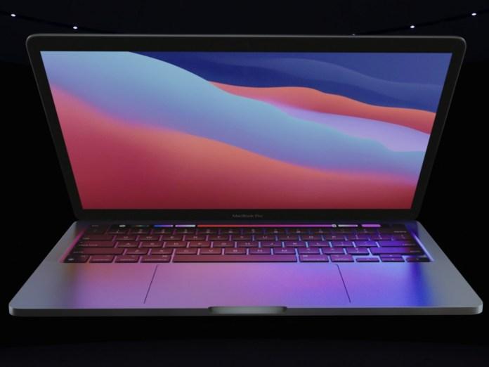 Apple MacBook Pro 13 M1 Front Display