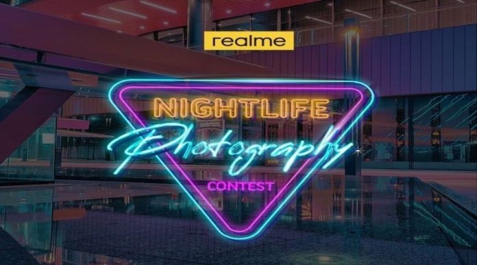 Join Realme's Nightlife Photography Contest to Win Realme 7 Pro