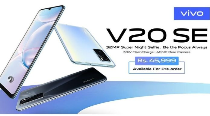 Vivo V20 SE Launched in Pakistan: Price, Specs & Features