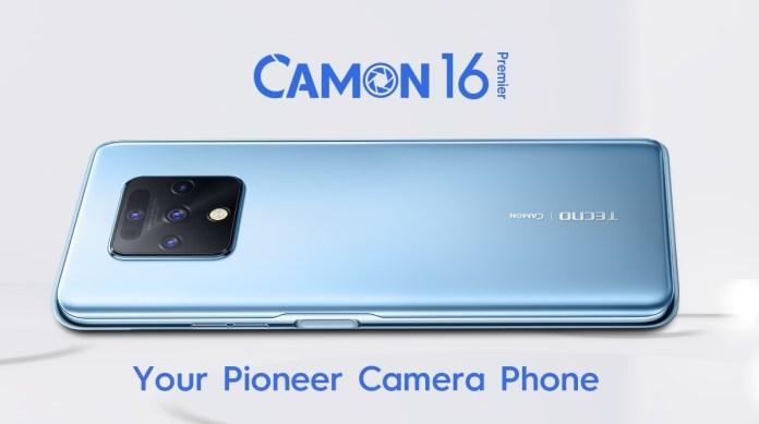Tecno Camon 16 Pioneer Camera Phone