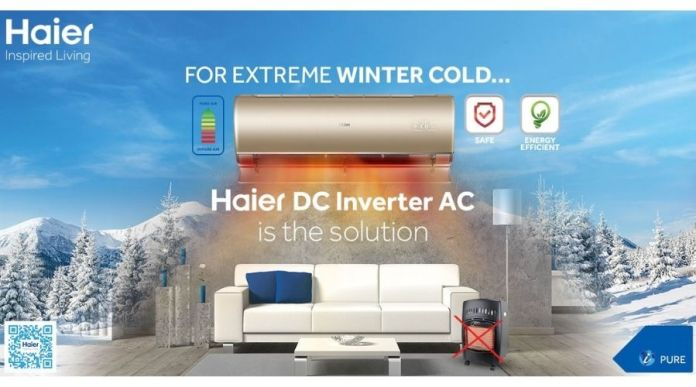 Haeir DC inverter AC, The Solution for Extreme Winter Cold