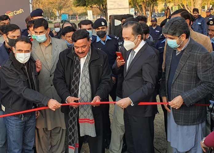 Sheikh Rashid Inaugurates The Jazz Drive-In Cinema at Islamabad