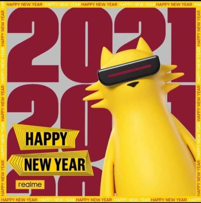 realme new year 2021 celebration