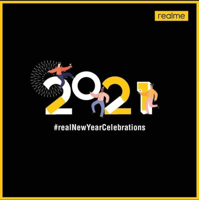 realme new year celebration