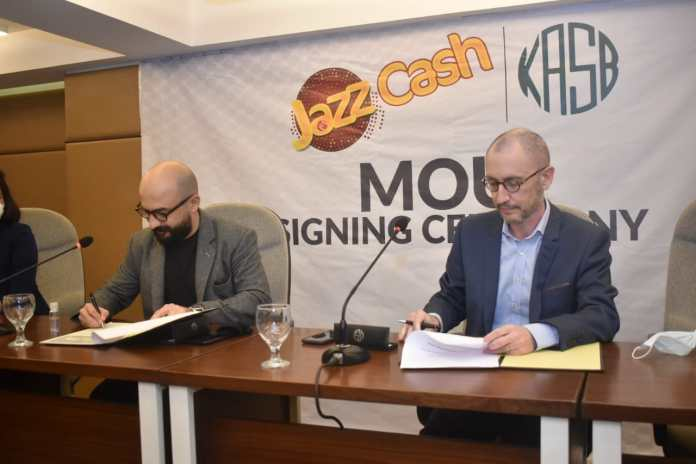 JazzCash and KASB Securities join forces to promote retail investment