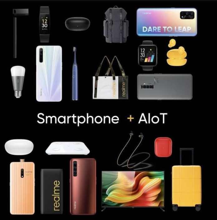 realme smartphone AIoT