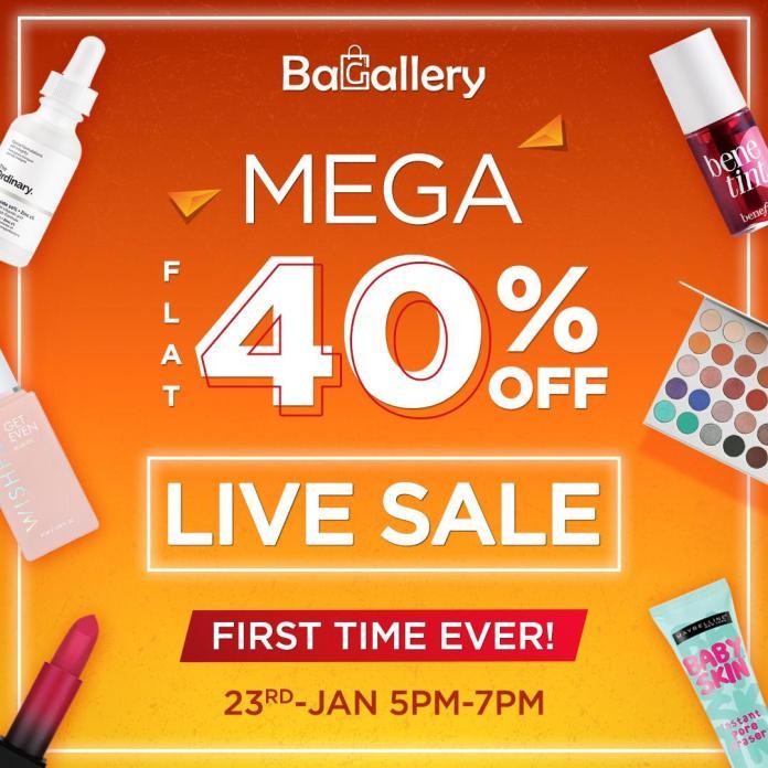 Bagallery Mega Sale Flat 40% Off
