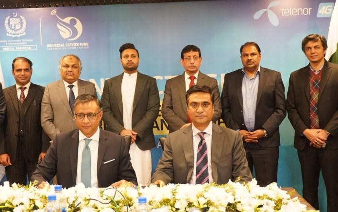 USF Telenor Pakistan providing hi-speed braodband in Chitral