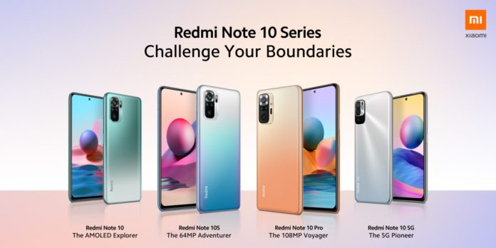 Xiaomi: Challenge your boundaries with the new Dynamic Redmi Note 10 Pro and Redmi Note 10