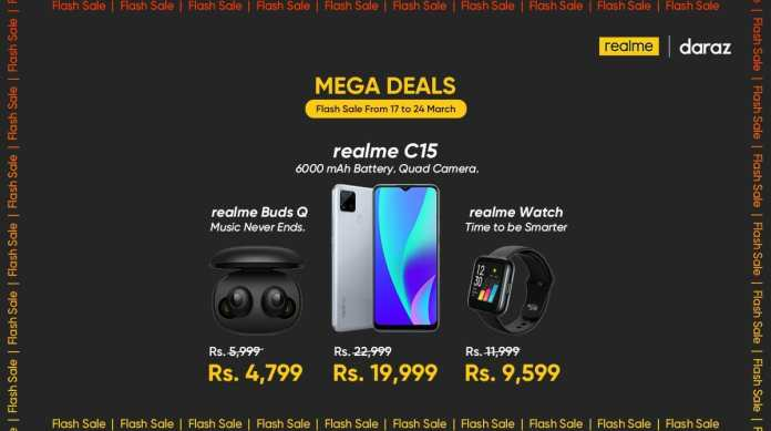Realme offers exclusive discounts on smartphones & AIoT for Daraz Pakistan Day Sale