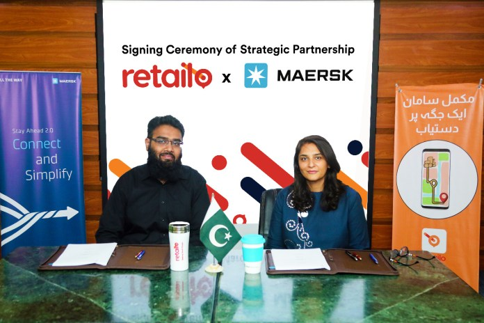 Retailo partners with Maersk for warehousing solutions in Pakistan