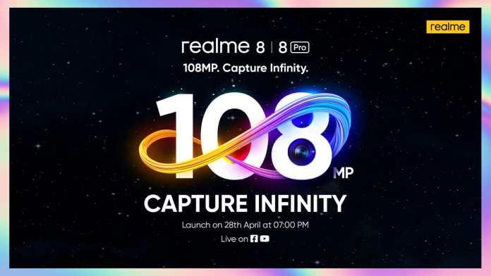 realme 8 series launch