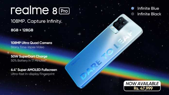 realme 8 Pro: Infinite Clarity and Outclass Imagery Now Available in Pakistan