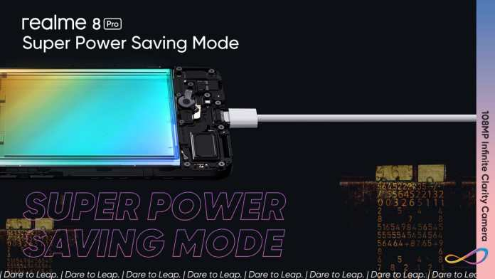 The Realme 8 Series Battery Gets Powered Faster with the 50W SuperDart Charge and Runs Longer