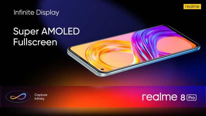 realme 8 pro super amoled display