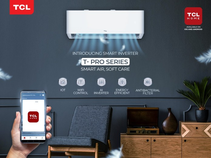 TCL Pakistan Launches T- Pro T3 Full DC Inverter AC with IoT Wi-Fi for Smarter Living