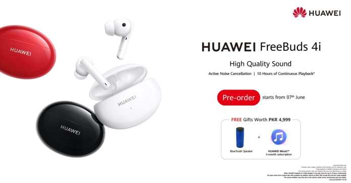 The All New HUAWEI FreeBuds 4i, Last All Day, Music All the Way