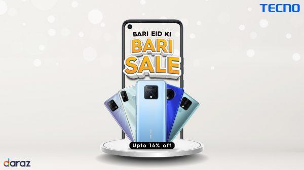 "TECNO brings massive discounts with ""Bari Eid Ki Bari Sale"" Offer"