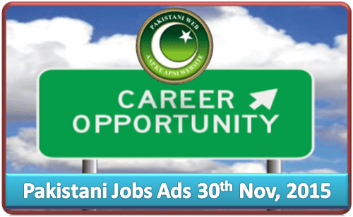 Daily Job Ads 30th Nov 2015