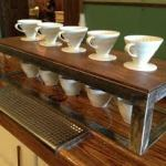cup sets in cafe