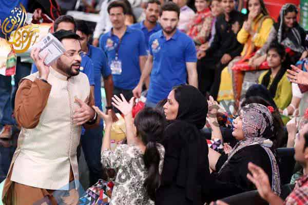 aamir liaquat in ramzan shows in pakistan