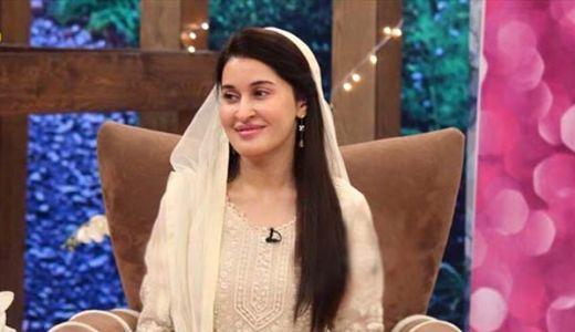 shaista lodhi on hum sitary show