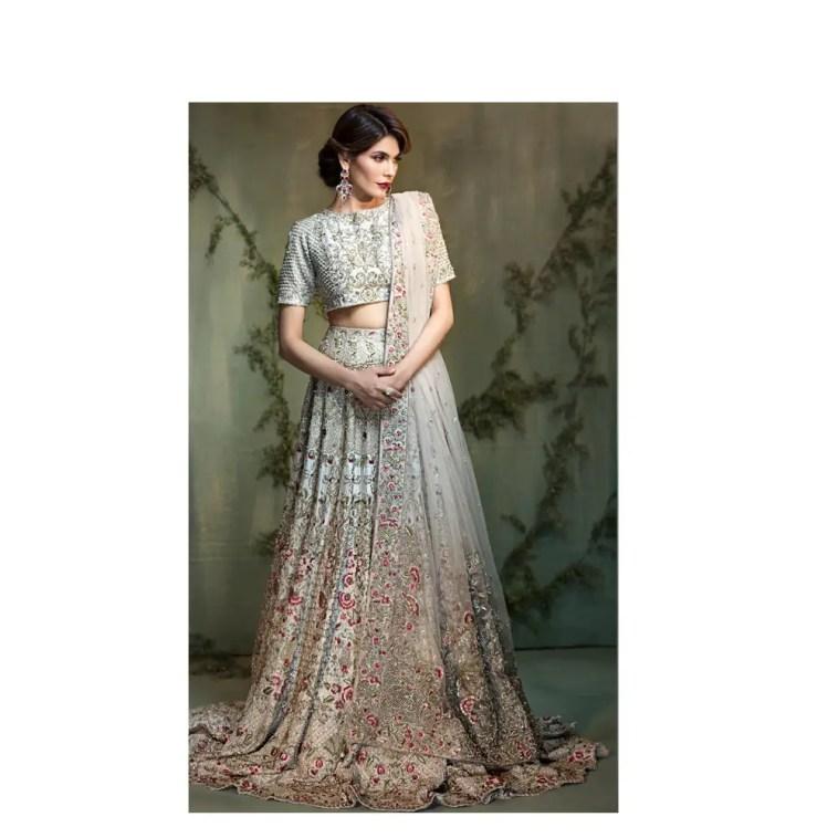 Green Bridal By Native Pakistani Ready To Wear Pret Dresses