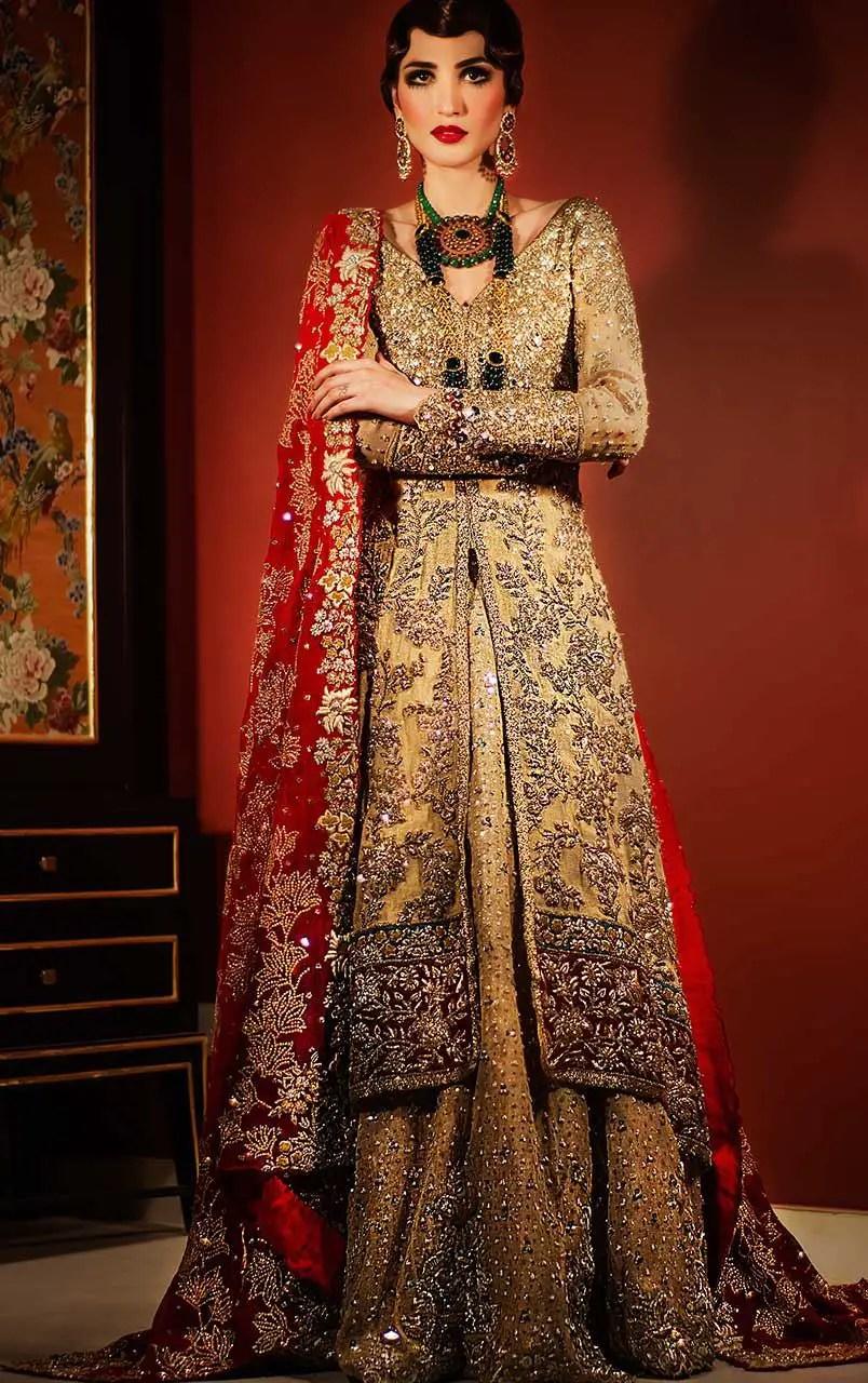 6b7b8283a9614c Pakistani Bridal Lengha 2018 – Fashion dresses
