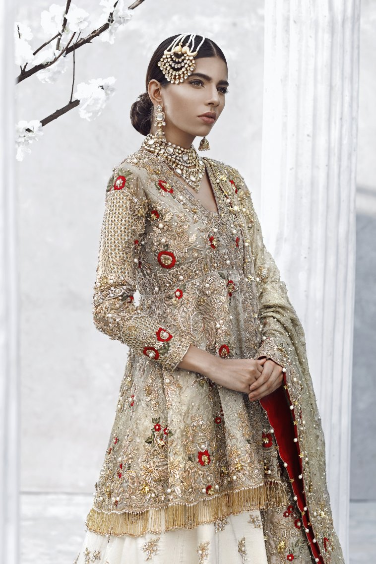 Pakistani bridal dresses online shopping in pakistan for Asian bridal wedding dresses