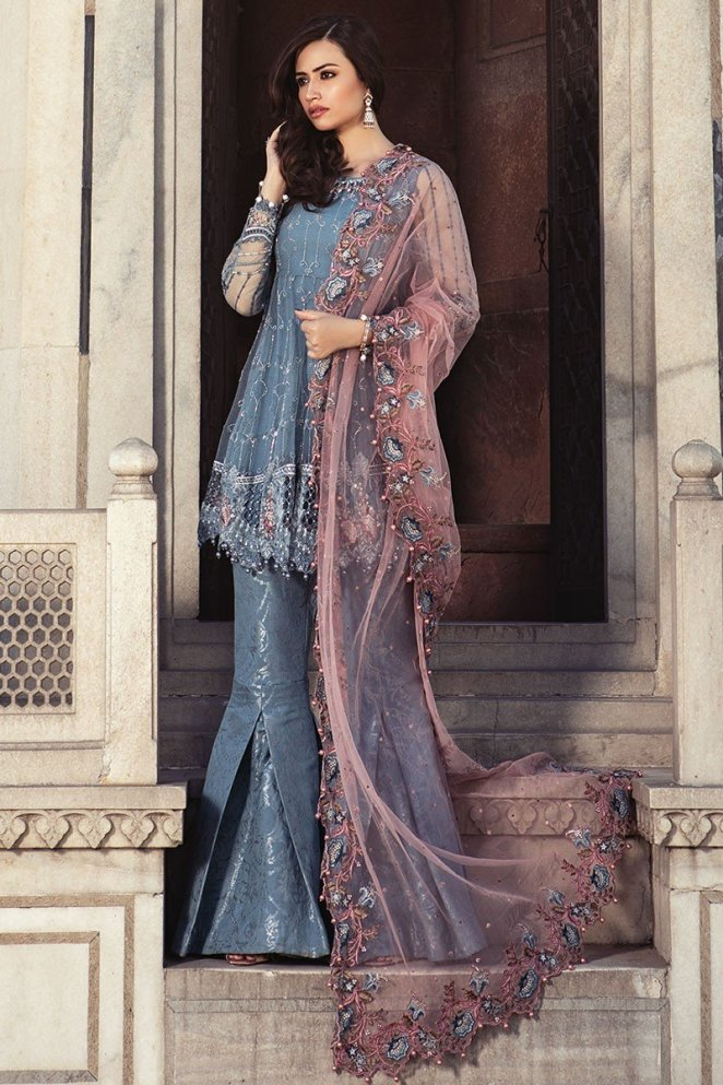Maria B Eid Collection Features Ready To Wear Full Embroidered