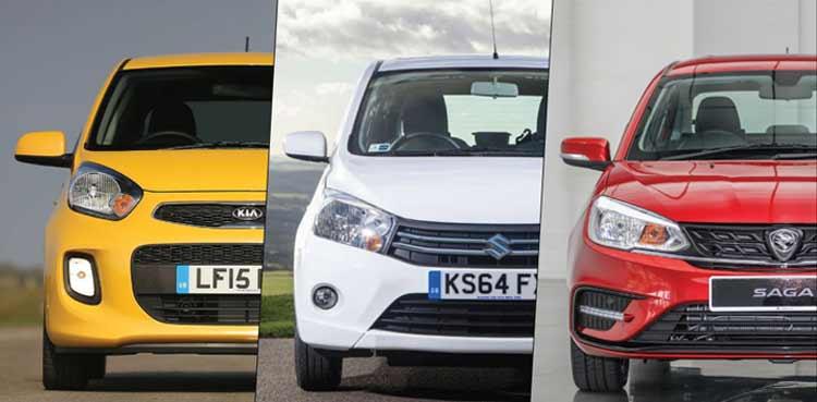 Which one is better? Proton Saga or Suzuki Cultus or Kia Picanto having the same Price