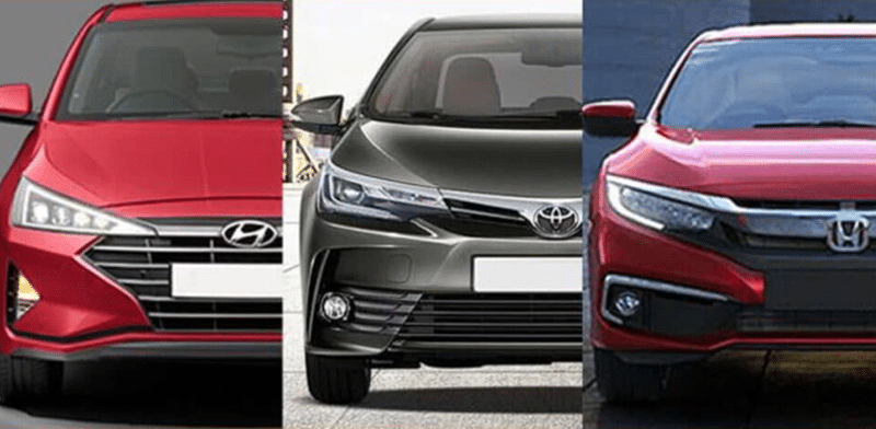 Hyundai Elantra has launched in Pakistan as competent Against Civic and Corolla