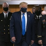 After intense pressure and criticism, President Trump finally put on a mask