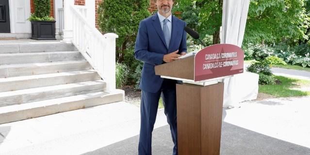 Canada to spend 19 billion Canadian dollar on safe restart after lockdown says prime minister Justin Trudeau کینیڈا لاک ڈاﺅن کے بعد معیشت کی بحالی پر 19ارب ڈالر خرچ کرے گا، وزیر اعظم جسٹن ٹروڈو