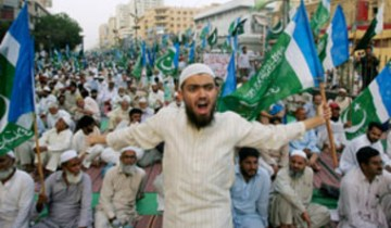 kashmir rely karachi jamate islami