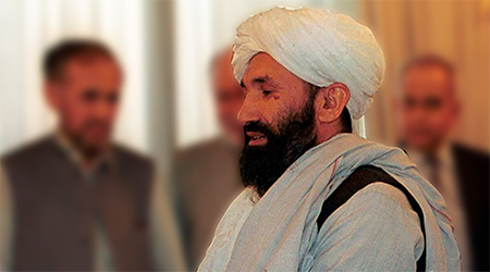 Mullah Hasan Akhund, the new acting PM of Afghanistan