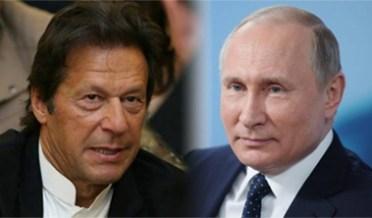 عمران خان اور پیوٹن میں رابطے تیز